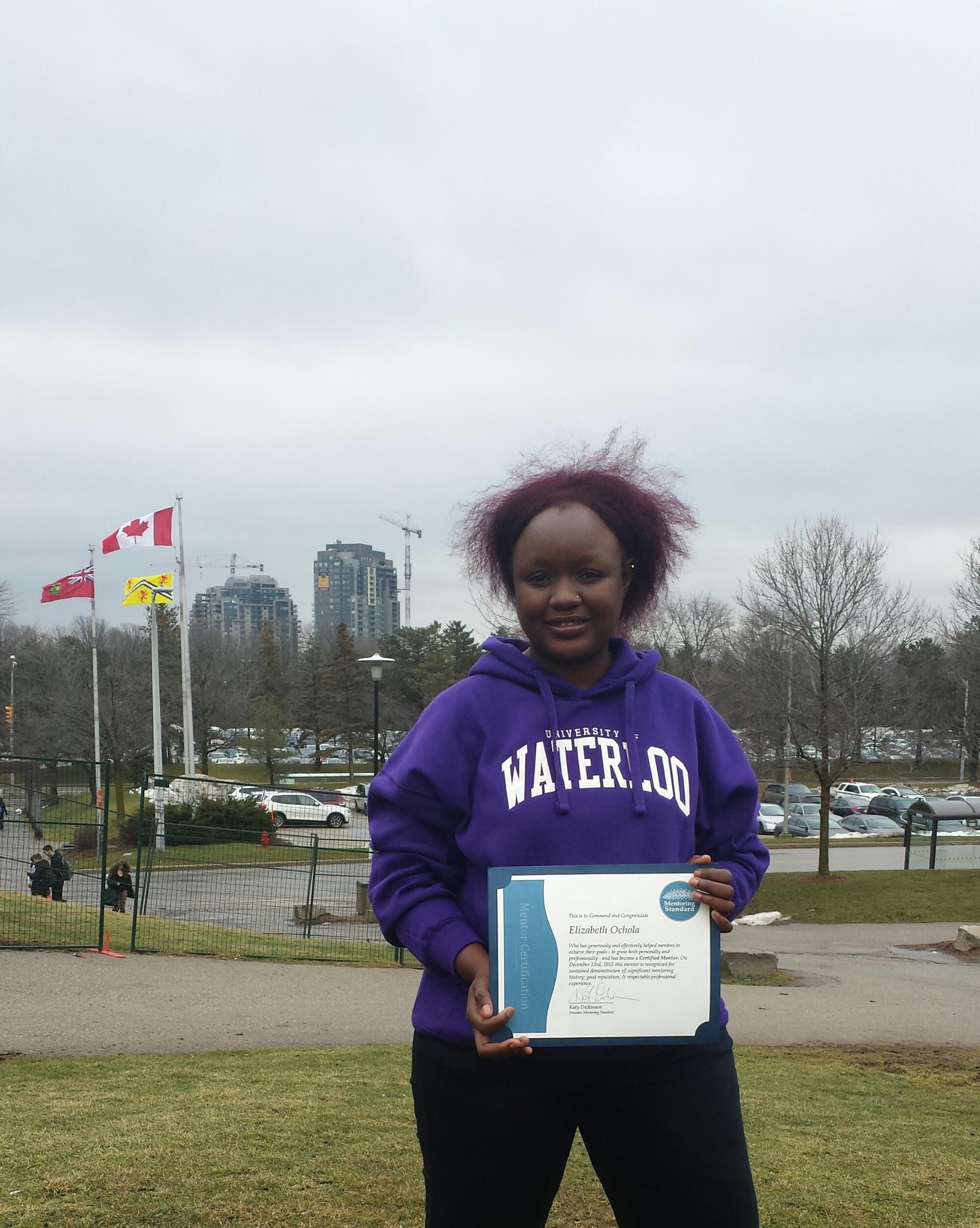Elizabeth Ochola, Certified Mentor