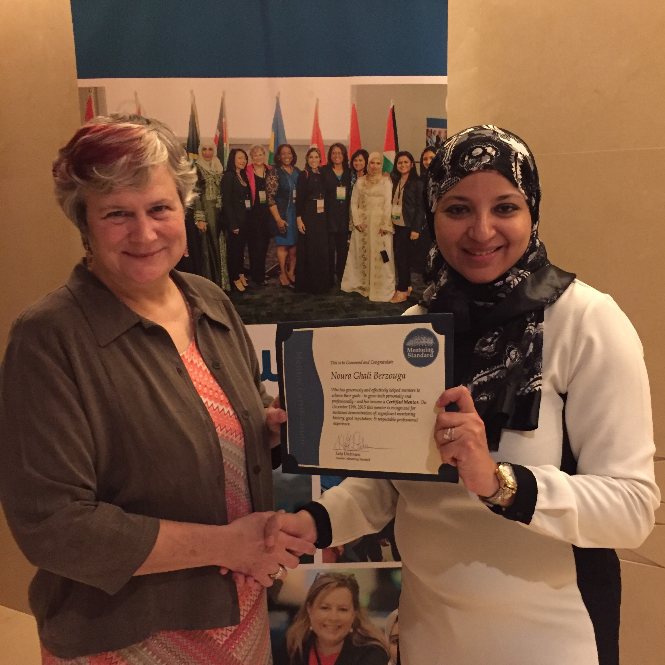 Noura Ghali Berzouga, Certified Mentor